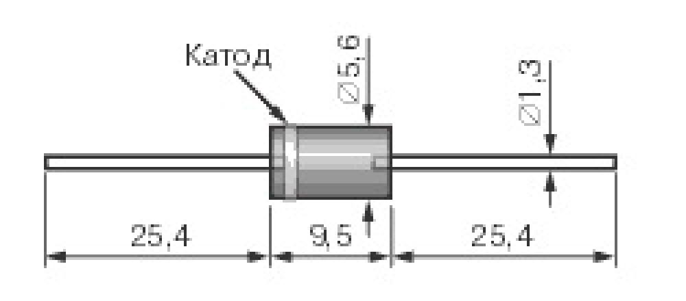 Стабилитрон | принцип работы и маркировка стабилитронов