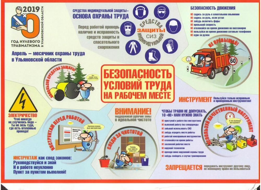 Положение о проведении инструктажей по охране труда и пожарной безопасности