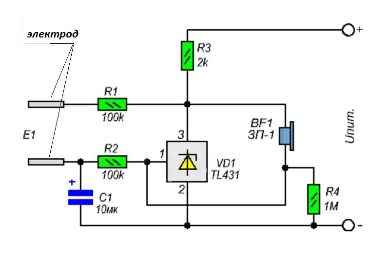 Использование параллельного стабилизатора tl431 для ограничения уровня входного напряжения переменного тока