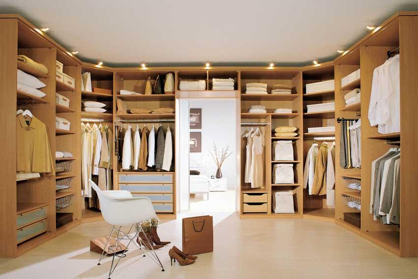 Что нужно знать про освещение гардеробной