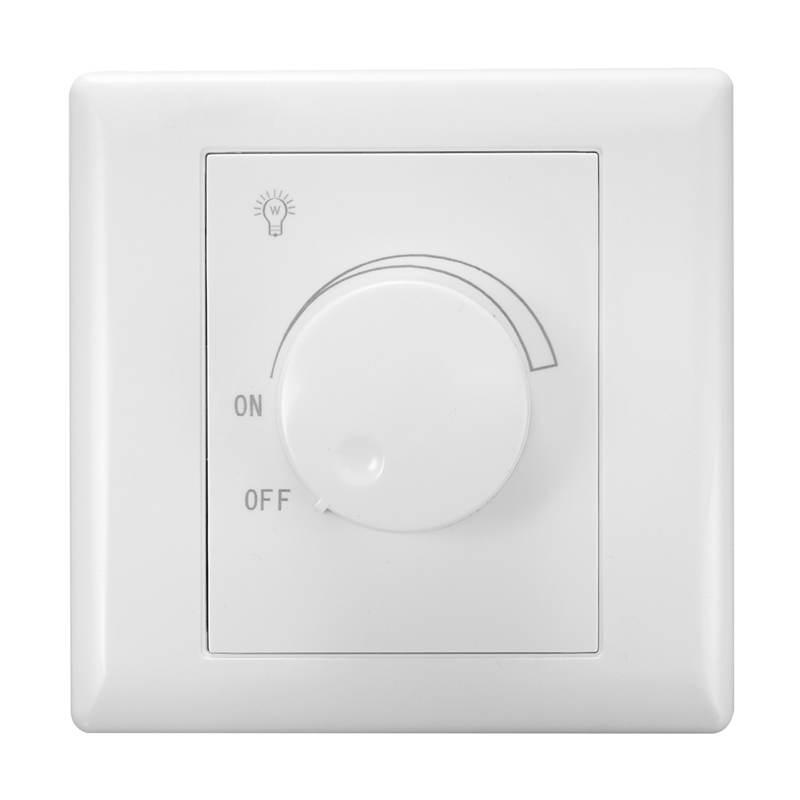 Схема подключения выключателя с регулятором яркости