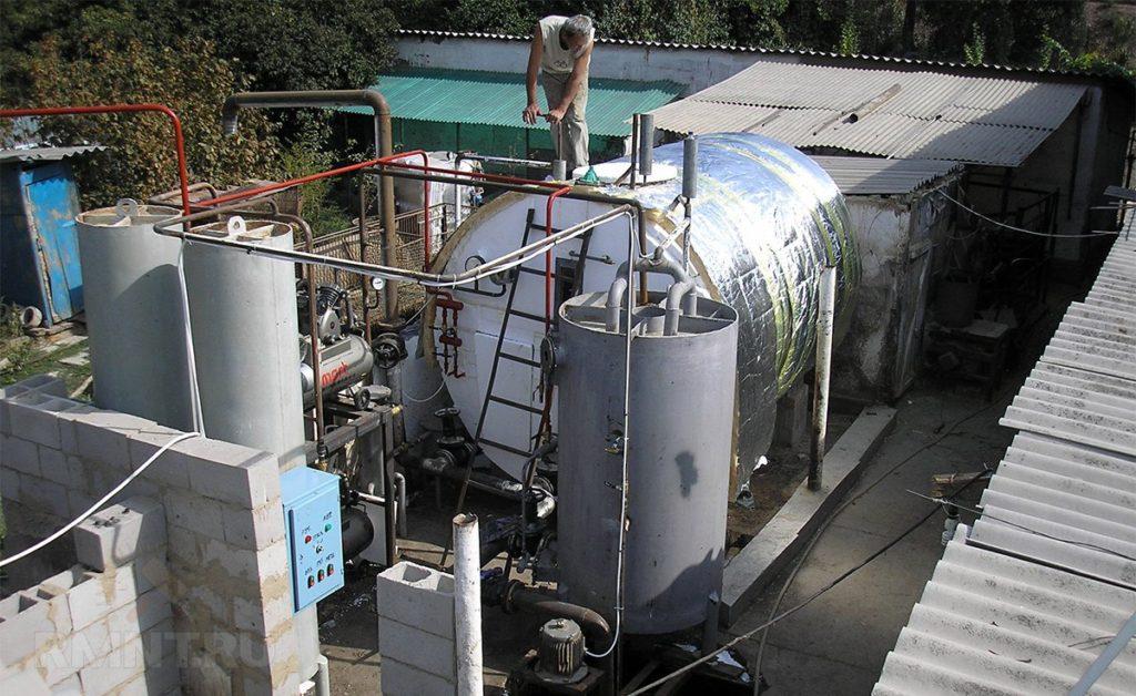 Технология получения биогаза из навоза