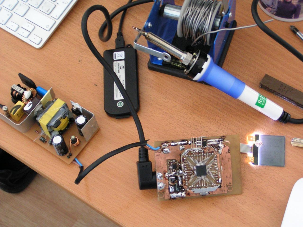 Паяльные станции на базе arduino