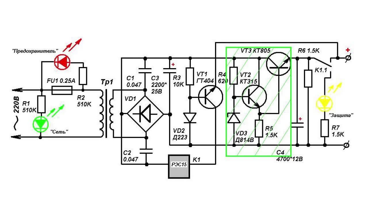 Лабораторный блок питания от 0 — 30 вольт от 0,002 — 3 а