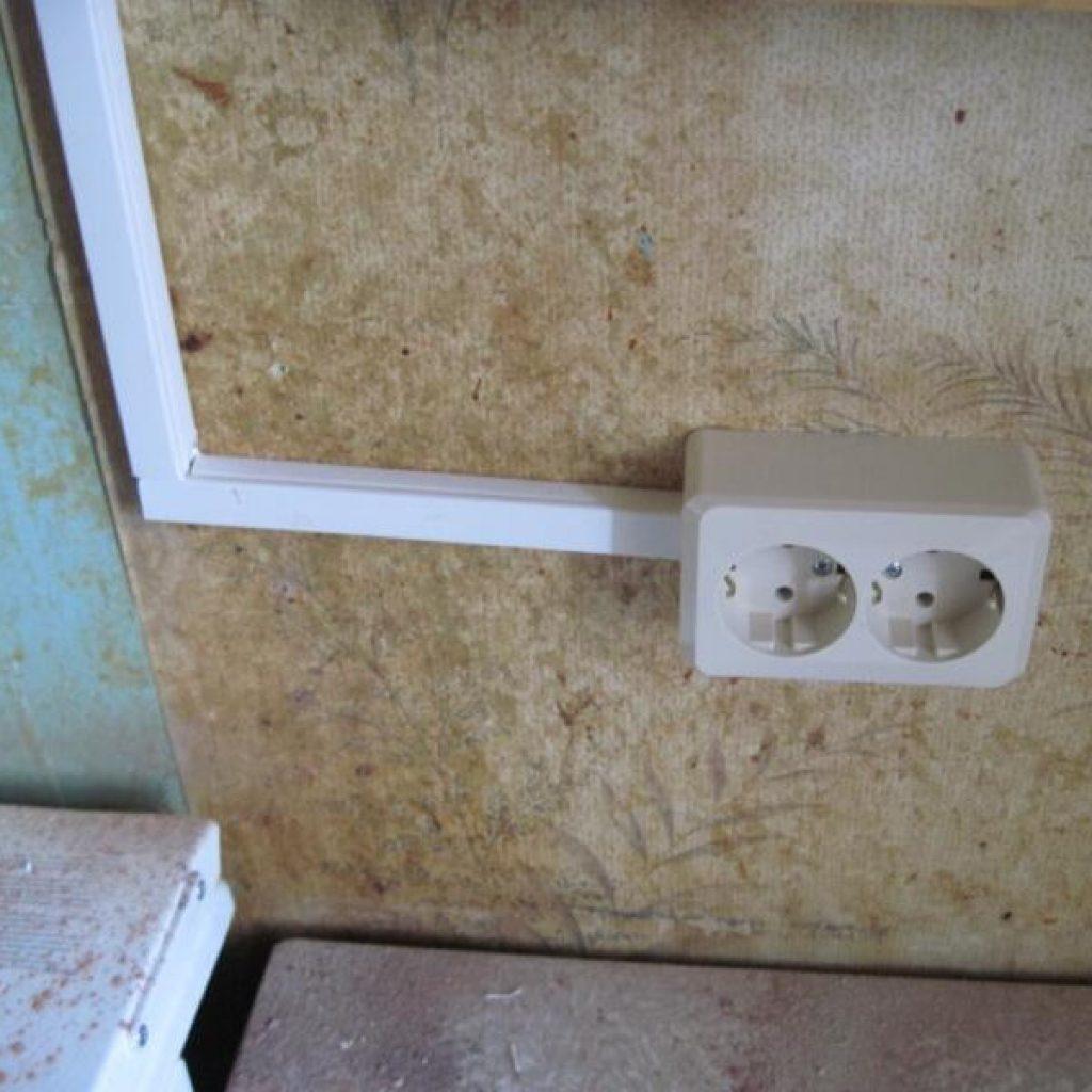 Скрытая проводка в доме своими руками