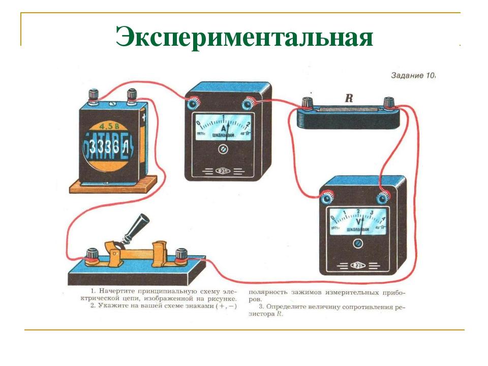 Как измерять силу тока в электрической цепи