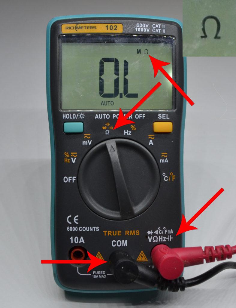Переменный резистор: назначение, устройство, виды, проверка мультиметром