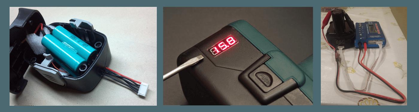Как заряжать литий ионный аккумулятор на шуруповерт