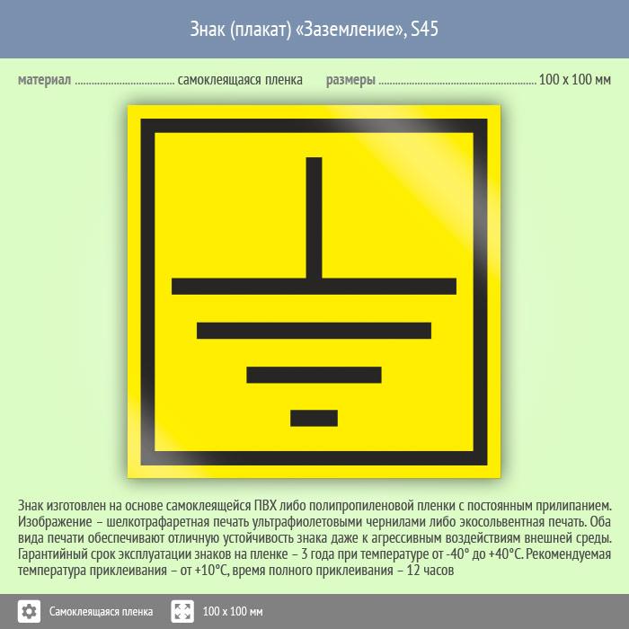 Требования к обозначению знака заземления в электроустановках