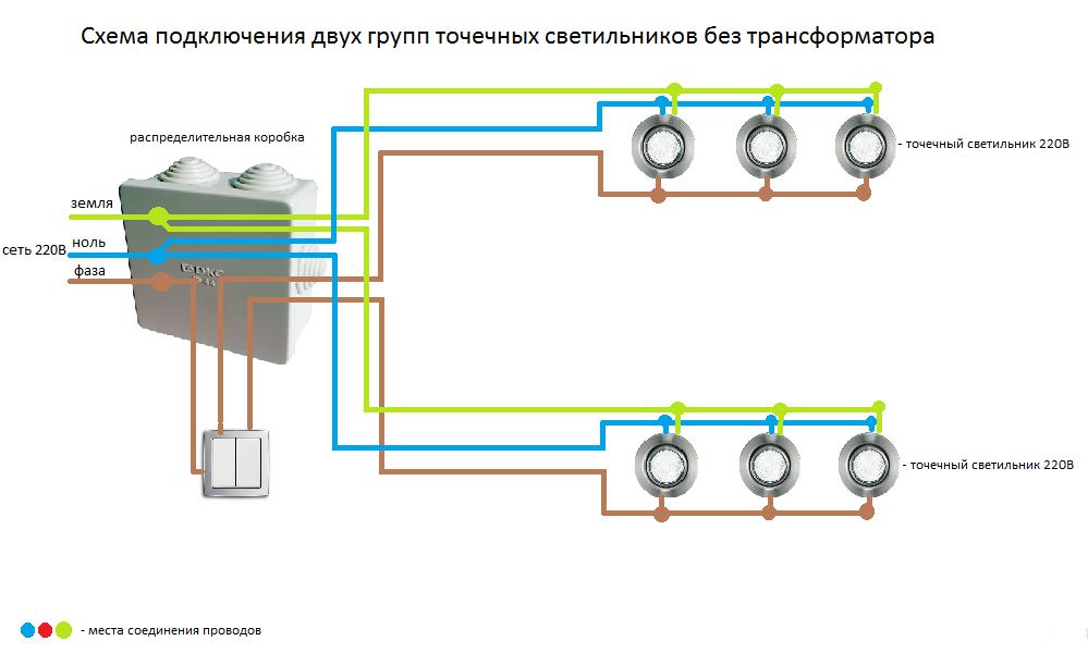 Выбор и технология монтажа светильников в потолок из гипсокартона