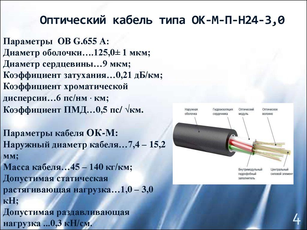 Технические характеристики кабеля асб