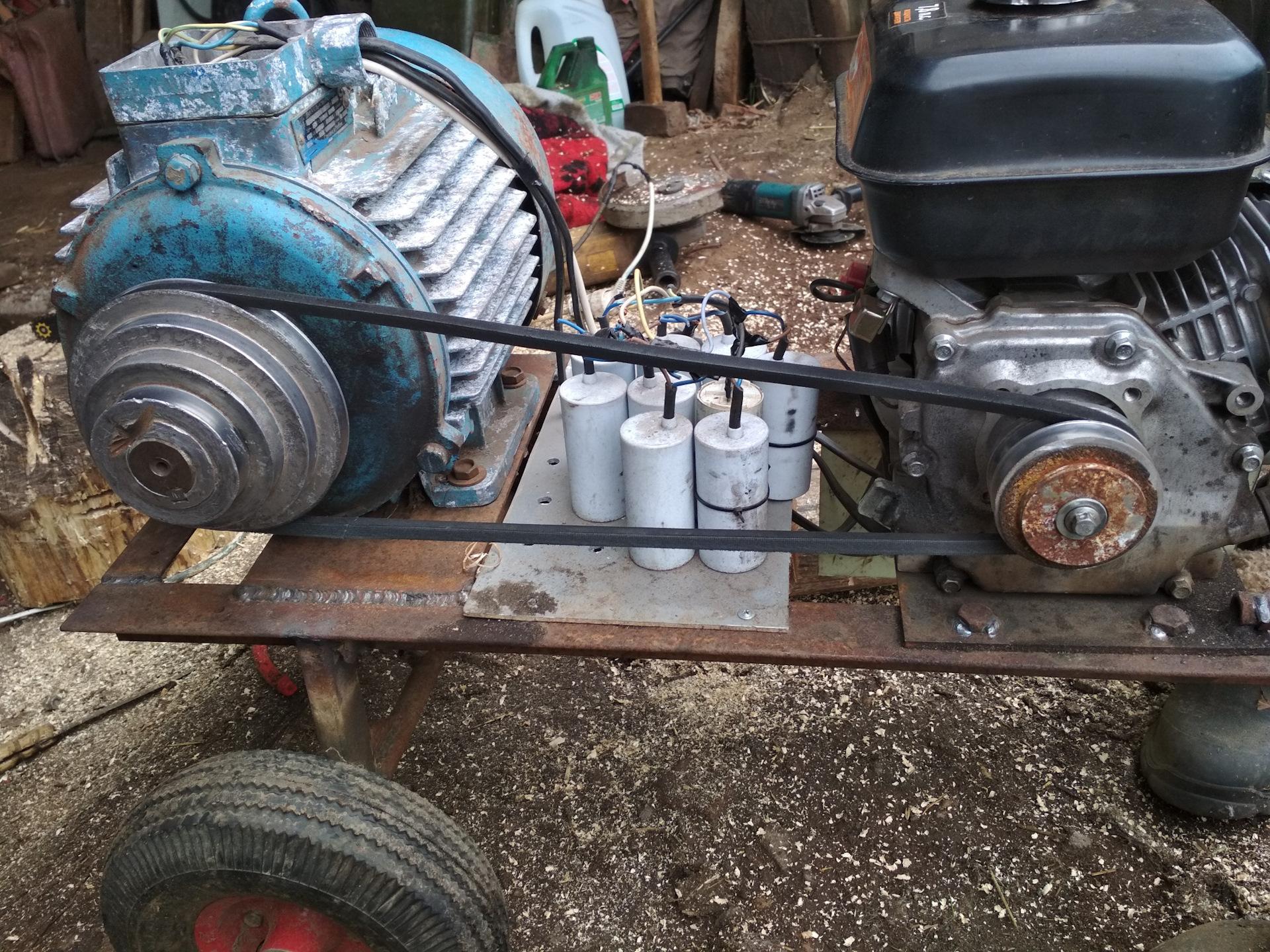 Бензогенератор из автомобильного генератора своими руками. самодельный бензогенератор своими руками — особенности исполнения. классификация бензиновых генераторов