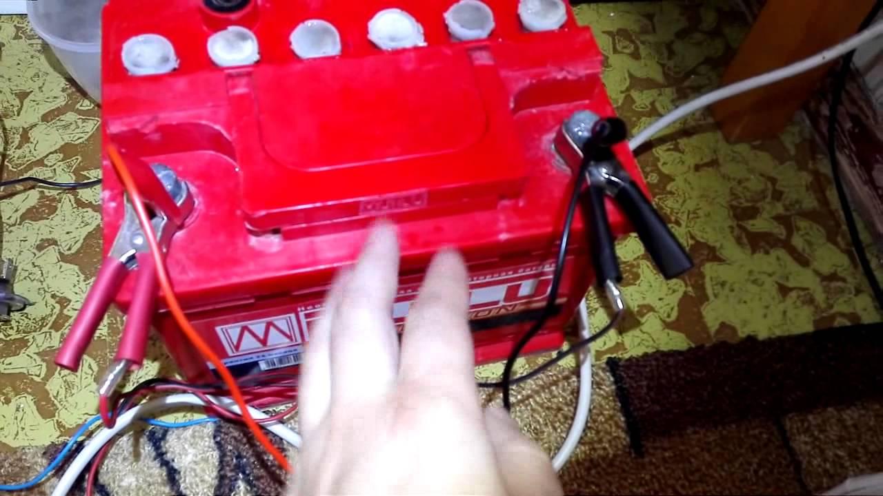 Восстановил автомобильный аккумулятор переполюсовками, что из этого получилось после простоя акб. переполюсовка восстановление аккумулятора током обратной полярности
