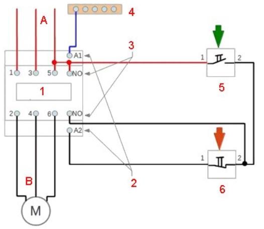 Назначение и способы подключения магнитного пускателя