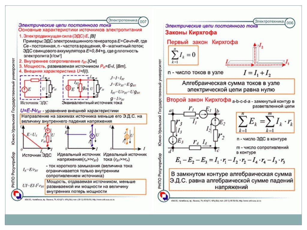 1 основные понятия, определения и законы электротехники