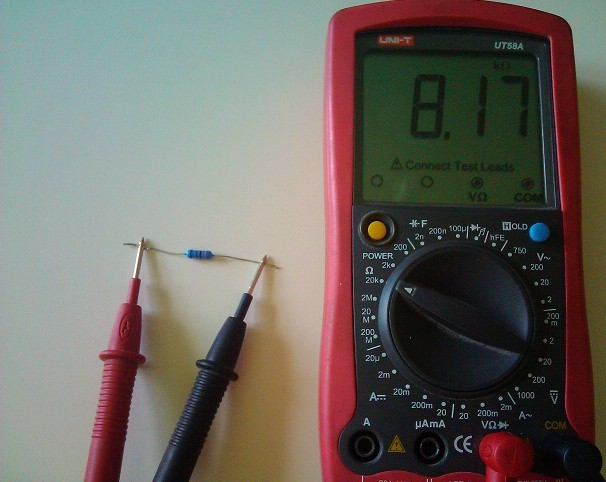 Как проверить резистор (позистор) мультиметром не выпаивая