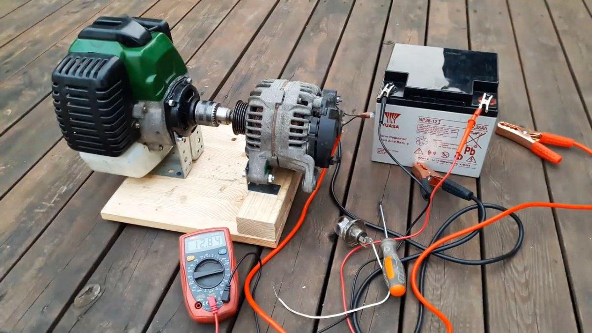 Из чего можно собрать электрогенератор своими руками